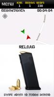 MobileWar - Drag downwards to reload