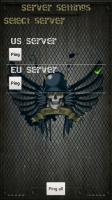 MobileWar - Select server