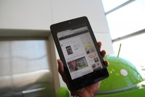 Nexus 7 AndroidTapp Webpage