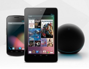 Nexus Line-up: Galaxy Nexus, Nexus 7 & Nexus Q