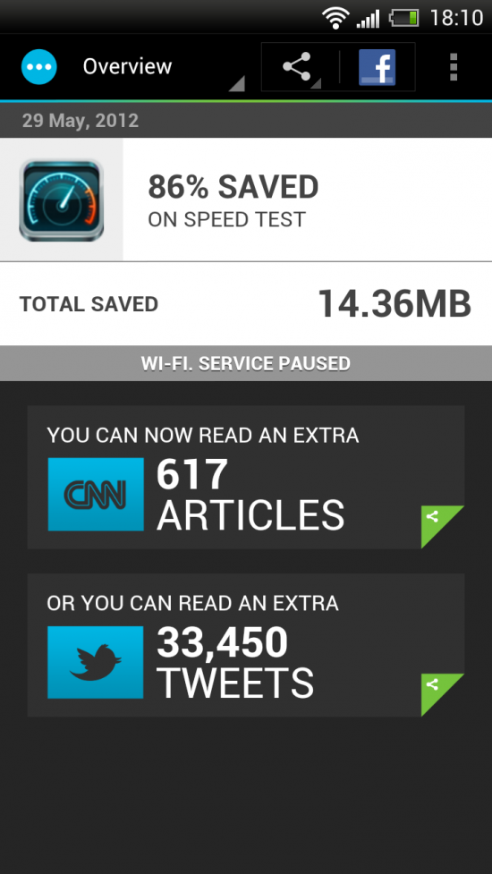 Onavo Extend – is a watchdog app for wireless data consumption