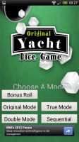 Original Yacht Dice Game - Choose mode