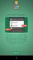 Play Safe - Set Play Safe as default (only when activated)