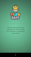 Play Safe - Intro screen
