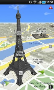 ROUTE 66 Maps + Navigation - 3d buildings in big cities