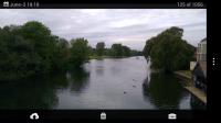 Scalado Album - Landscape view with menu