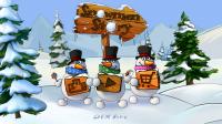 Snowmen Story - Menu