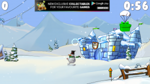 Snowmen Story - View of world (panning from left to right) 3