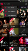 Songkick Concerts- Brilliantly simple navigation