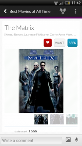 Springpad - Add favourite movies