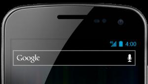 Sprint Galaxy Nexus Top Close