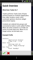 Tasker - Quick Overview