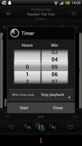 jetAudio - Sleep timer