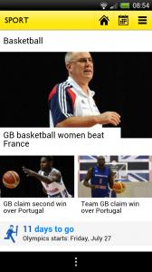 BBC Olympics - Basketball
