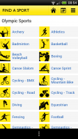 BBC Olympics - Find a sport
