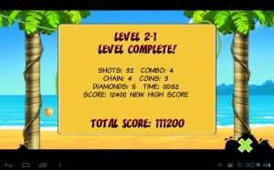 Birds Level Complete