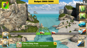 Bridge Constructor in Gameplay 1