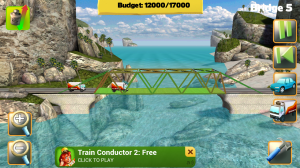 Bridge Constructor in Gameplay 3