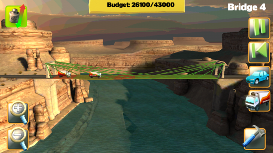 Bridge Constructor – awesome bridge building puzzle game!