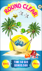 Dino Bubble Shooter 2 - Round clear