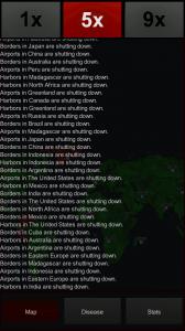 Epidemic - Dialogue expands as game progresses