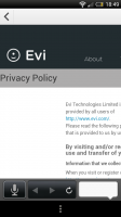Evi - Privacy policy