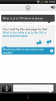 Evi - Some questions are understood, just refered to other websites