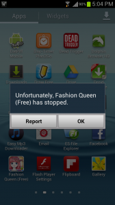 Fashion Queen Constant Forced Closures