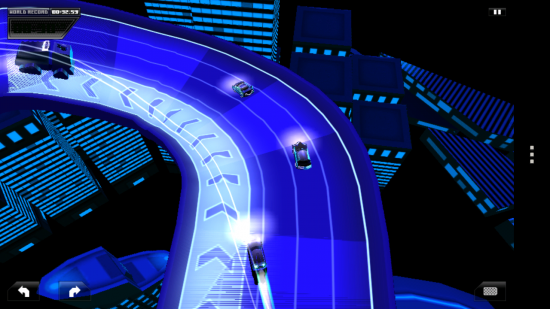 Forever Drive – addictive futuristic 3D racing game, create & contribute your own race tracks!