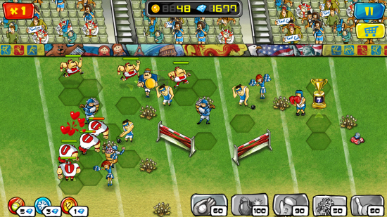 Goal Defense – tower defense game of Olympic-sport proportions!
