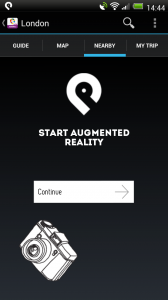 GuidePal - Augmented reality when you are there