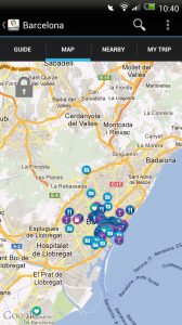GuidePal - Barcelona Map