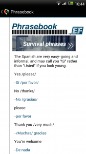 GuidePal - Phrasebook