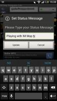 IM Map Navigator - Set status
