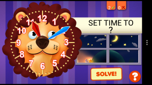 Interactive Telling Time HD - Set the time
