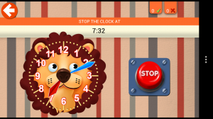 Interactive Telling Time HD - Stop the clock