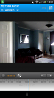Ivideon Surveillance - View through app of my living room!