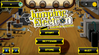 Jumping Electron HD - Menu