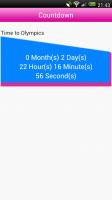 London 2012 Spogger - Countdown clock