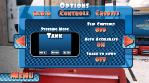 Mini Motor Racing - Options