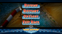 Mini Motor Racing - Pause menu