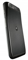 Motorola ATRIX HD Black Back Angle