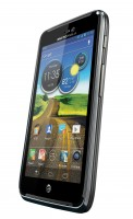Motorola ATRIX HD Black Angle View 2