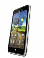 Motorola ATRIX HD in White Angle View