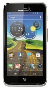 Motorola ATRIX HD in White