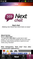 Next Chat Help Section