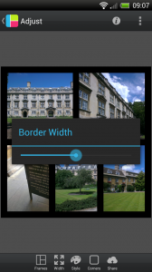 PicFrame - Adjust border width