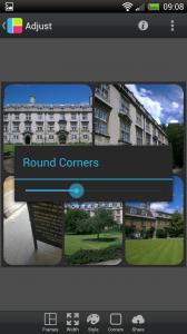 PicFrame - Adjust round corners