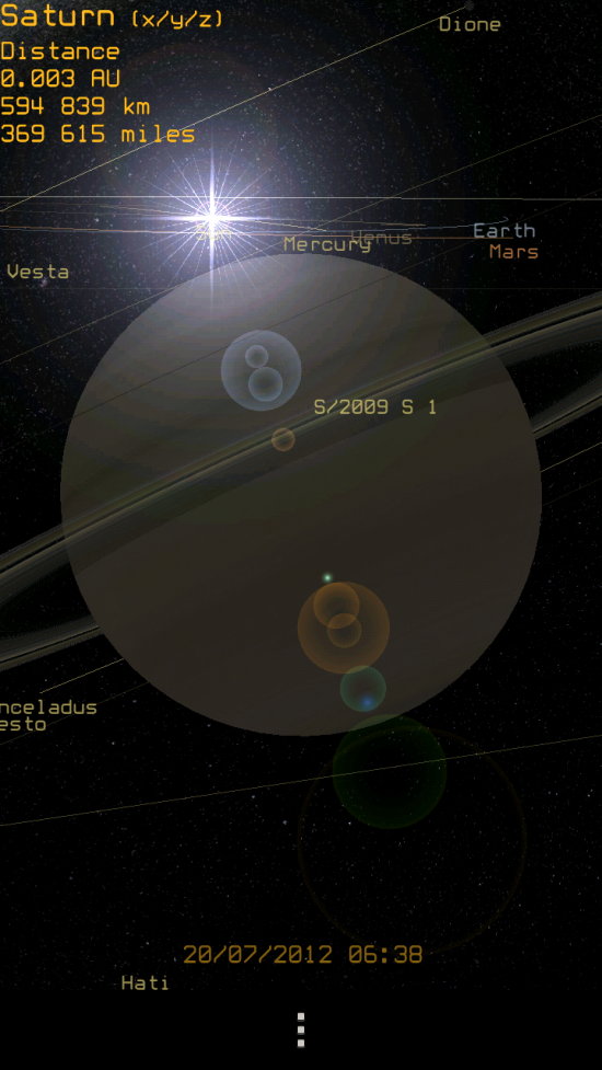 Pocket Planets – a brilliantly geeky app to explore the galaxy in cool 3D