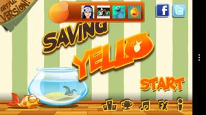 Saving Yello - Main menu